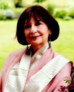 Madhur Jaffrey, photo by Lisa Levert